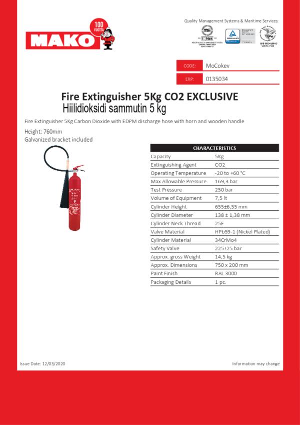 FIRE-EXTINGUISHER-5KG-CO2-EXCLUSIVE_en Kevyempi Mako